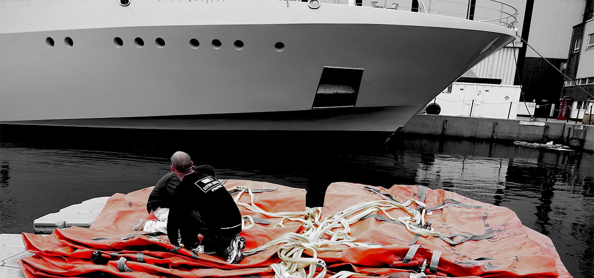 SUPER YACHT MV SENSES DRAFT REDUCTION