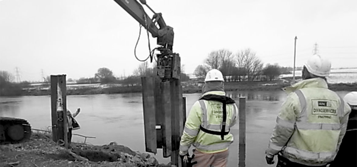 LINCOLN SHEET PILE CUTTING